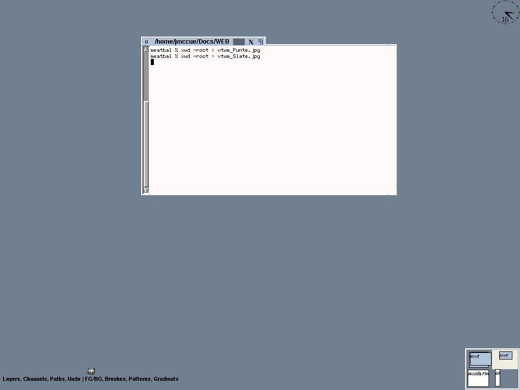 JMC vtwm Page, vtwm themes